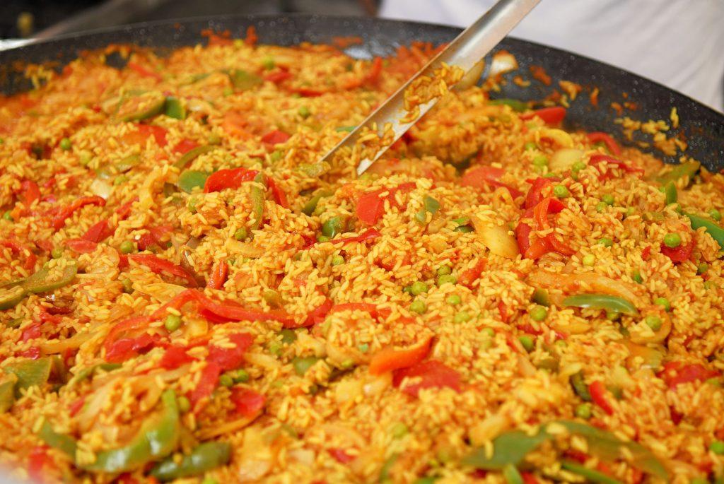 Paella cu orez special Omeda